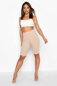 Womens Contoured Cycling shorts - beige - 14, Beige