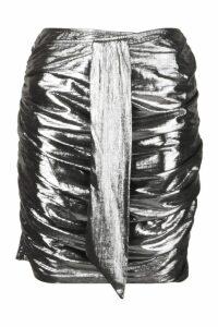 Womens Metallic Shirt - grey - 14, Grey