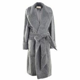 Alexandre Vauthier Long Fur Coat