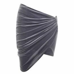 Alexandre Vauthier Velvet Mini Skirt