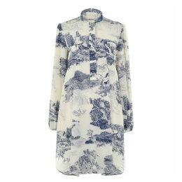 Chloe Print Midi Dress