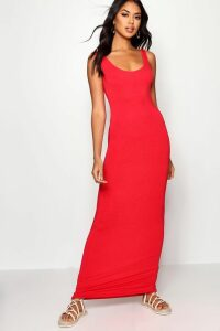 Womens Maxi Dress - red - 6, Red