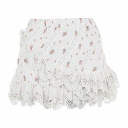 LoveshackFancy Emma Midi Skirt