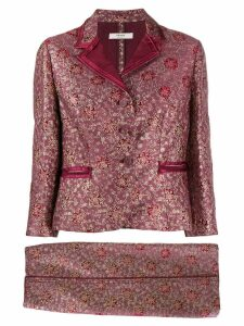 Prada Pre-Owned 2005 embroidered jacket and skirt suit