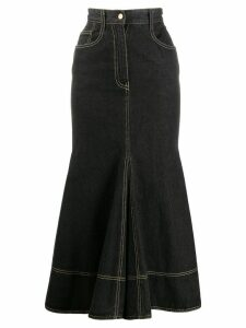 Moschino Pre-Owned denim mermaid skirt - Grey