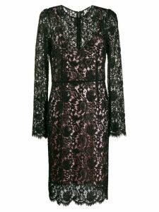 Dolce & Gabbana Pre-Owned lace shift dress - Black