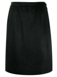 Yves Saint Laurent Pre-Owned Anni 80 skirt - Black