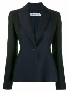 Christian Dior Pre-Owned tailored blazer - Blue