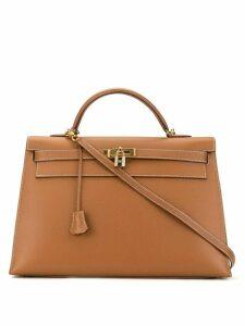 Hermès Pre-Owned Kelly 40 Sellier 2way bag - Brown