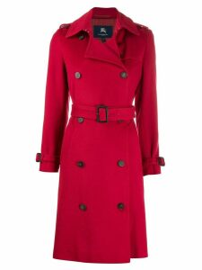 Burberry Pre-Owned 2000s trench coat - Red