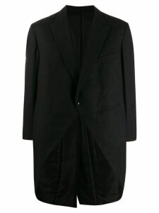 A.N.G.E.L.O. Vintage Cult 1990's back pleated oversized coat - Black