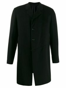 A.N.G.E.L.O. Vintage Cult 1910's notched straight coat - Black