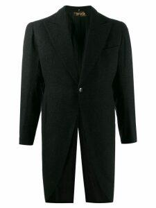 A.N.G.E.L.O. Vintage Cult 1940's Vignola peaked tailcoat - Grey