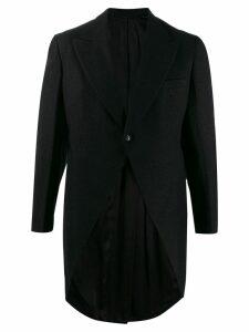 A.N.G.E.L.O. Vintage Cult 1950's Roger Kent peaked tailcoat - Black
