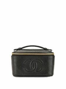 Chanel Pre-Owned CC cosmetic bag - Black