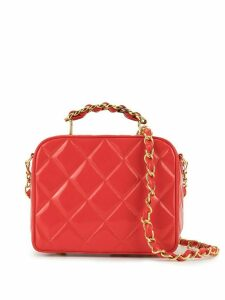 Chanel Pre-Owned quilted shoulder bag - Red