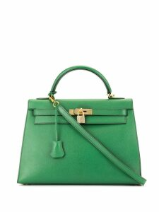 Hermès Pre-Owned Kelly 32 Sellier 2way bag - Green