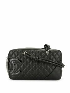 Chanel Pre-Owned Cambon Line Quilted CC Shoulder Bag - Black
