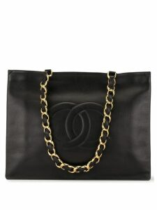 Chanel Pre-Owned CC logo tote bag - Black