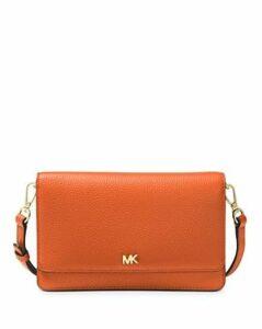 Michael Michael Kors Leather Smartphone Crossbody