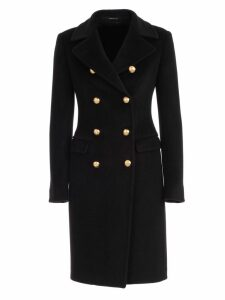 Tagliatore Coat Double Breasted W/slit