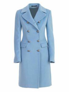 Tagliatore Coat Double Breasted W/slit