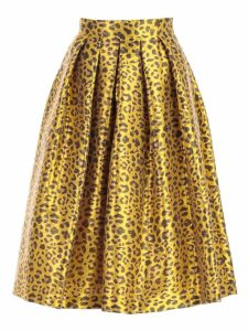 Ultrachic Skirt Longuette Animalier