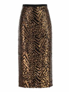 Antonio Marras Skirt Pencil W/paillettes