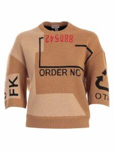 Mrz T-shirt 3/4s Jacquard