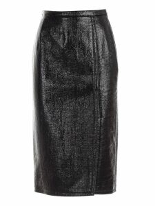 N.21 Skirt Pencil W/deep Slit