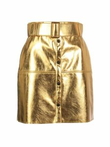 MSGM Metallic Skirt