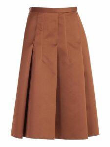 N.21 Skirt A Line W/side Zip