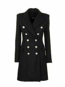 Balmain Overcoat Noir