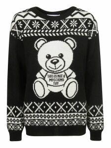 Moschino Toy Bear Intarsia Sweater