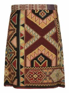 Etro Printed Mini Skirt