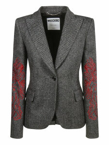 Moschino One Button Blazer