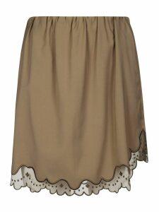 N.21 Elasticated Mini Skirt
