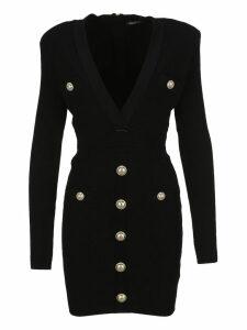 Balmain Button Dress