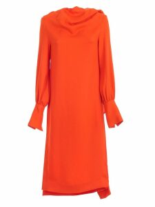 SEMICOUTURE Dress Grace Neck Behind