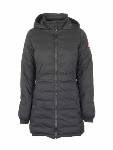 Canada Goose Camp Hooded Jacket Matte Finish Black