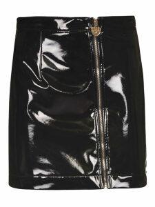 Chiara Ferragni Vinyl Mini Skirt