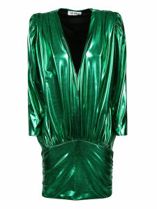 The Attico V-neck Dress
