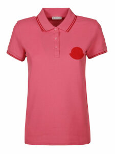 Moncler Logo Patch Polo Shirt