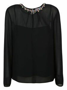 RED Valentino Embellished Blouse