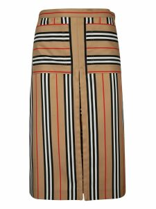 Burberry Striped Skirt
