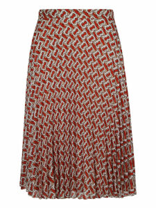 Burberry Printed Skirt