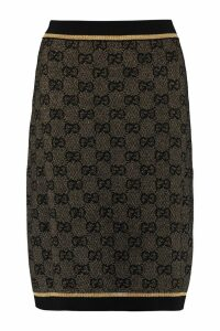 Gucci Jacquard Knit Skirt