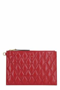 Givenchy Gv3 Flat Leather Pouch