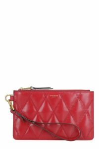 Givenchy Small Quilted Leather Flat Pouch