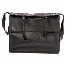 Fendi Leather Shoulder Bag Flip